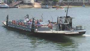 Ferry_dartmouth_devon_england