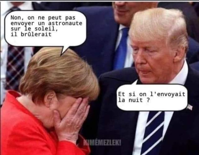 Merkel & Trump