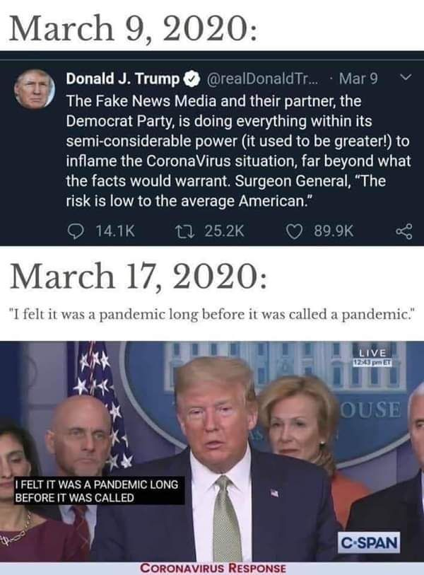 Did Trump Say This About the COVID-19 Pandemic_