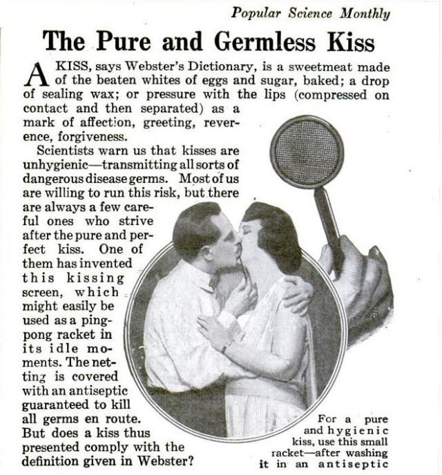 Germ-Less Kissing Using This 1920s Device _ Science News